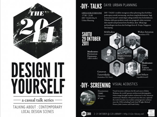 c2o Library : Introduction to Design – Design It Yourself 2011