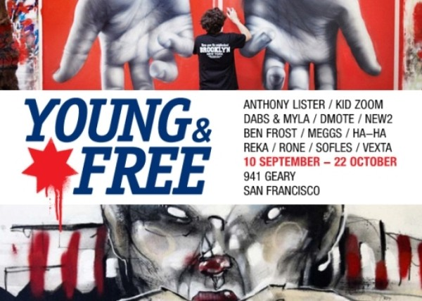 YOUNG & FREE EXHIBITION : Contemporary Australian Street Artists