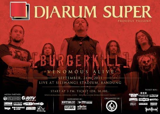 BURGERKILL 'Venomous Alive' Live in Concert