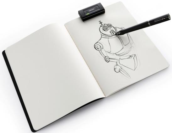 Wacom 'inkling' digital pen