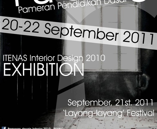"""RUANG"" ITENAS Interior Design 2010 Exhibition"