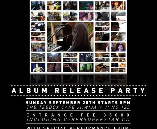 "Stereomantic ""cybersuperstar"" album release party"