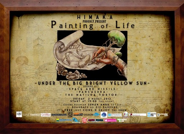 Painting of Life – Under The Big Bright Yellow Sun Showcase