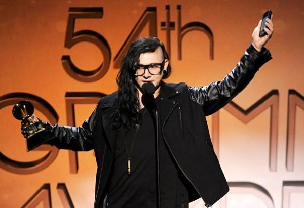 Skrillex memenangkan 3 Grammy awards 2012