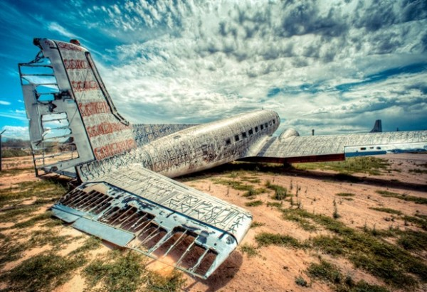 The Boneyard Project: 'Return Trip' at Pima Air & Space Museum