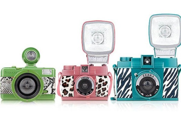 LOMOGRAPHY Valentine's Day 'Animal Print' Cameras