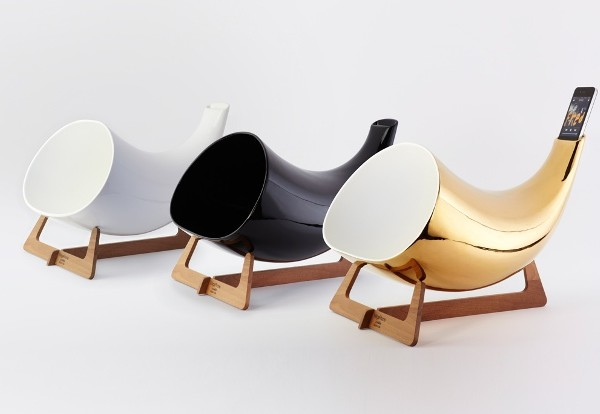 Megaphone: A Handmade Ceramic Horn for the iPhone