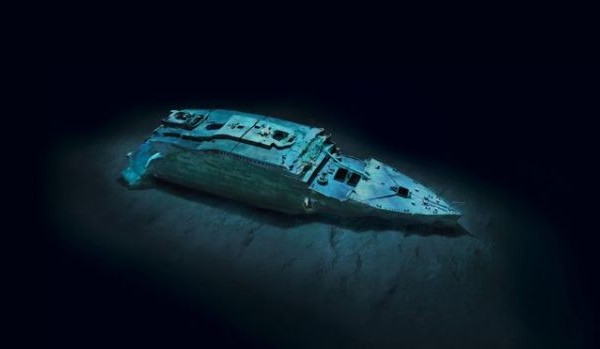 DISCOVERY CHANNEL TO RELEASE NEW IMAGES OF SUNKEN TITANIC
