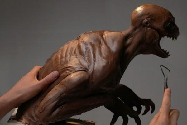 Humanosaurus Concept Art For Jurassic Park IV Leaked