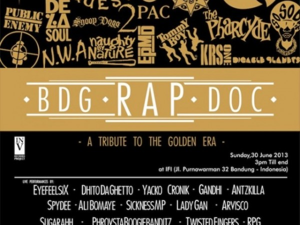 BDG RAP DOC – A Tribute To Golden Era