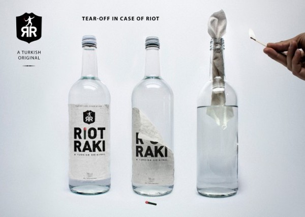 Riot Raki in Turkey