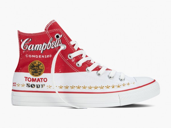 Andy Warhol x Converse Spring 2015 Chuck Taylor All Star Collection