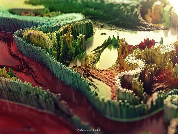 3D Abstract Digital Art by Mahmoud Jouini