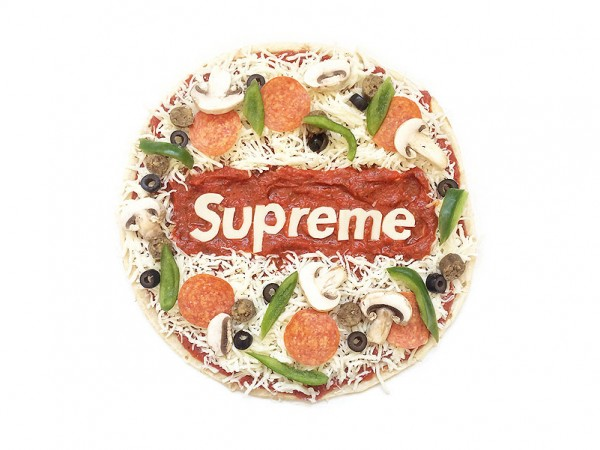 Logos Made of Food